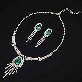 bridal jewelry set necklace jewelry two-piece rhinestone claw chain jewelry set Shipping Weight:0.05; Package Dimensions:10.010.01.0; Listing Date:06/03/2021