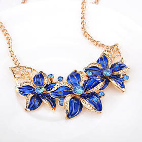 jewelry wholesale european and american wild trend fashion flower dripping diamond necklace set clavicle chain 9202 Shipping Weight:0.05; Package Dimensions:20.010.05.0; Listing Date:06/09/2021
