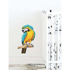 children's parrot pattern wall sticker Listing Date:07/28/2021