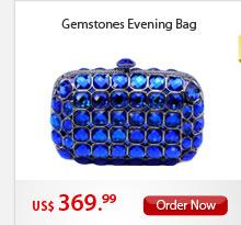 Gemstones Evening Bag