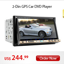 2-Din GPS Car DVD Player