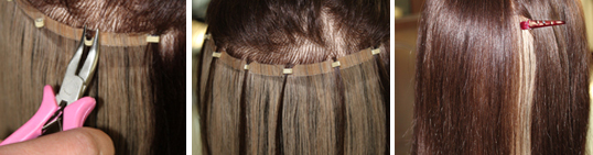 Wigs buying guide from lightinthebox now the hair extensions is firmly applied on see the steps as pictures below pmusecretfo Image collections