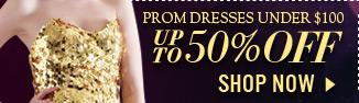 Prom Dresses under $100