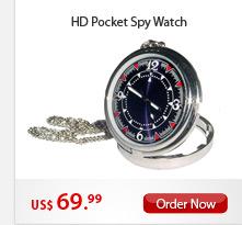 HD Pocket Spy Watch