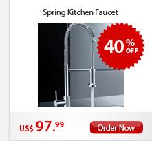Spring Kitchen Faucet