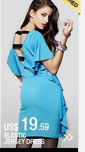 Elastic Jersey Dress