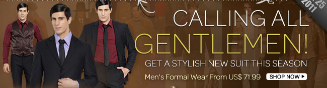 Calling All Gentlemen!