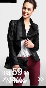 Fashionable PU Outerwear