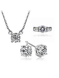 Diamond Jewelry Sets