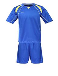 Fotboll tröjor och shorts