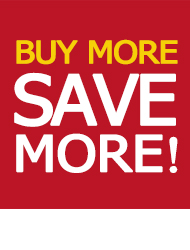 Kaufe mehr, spare mehr