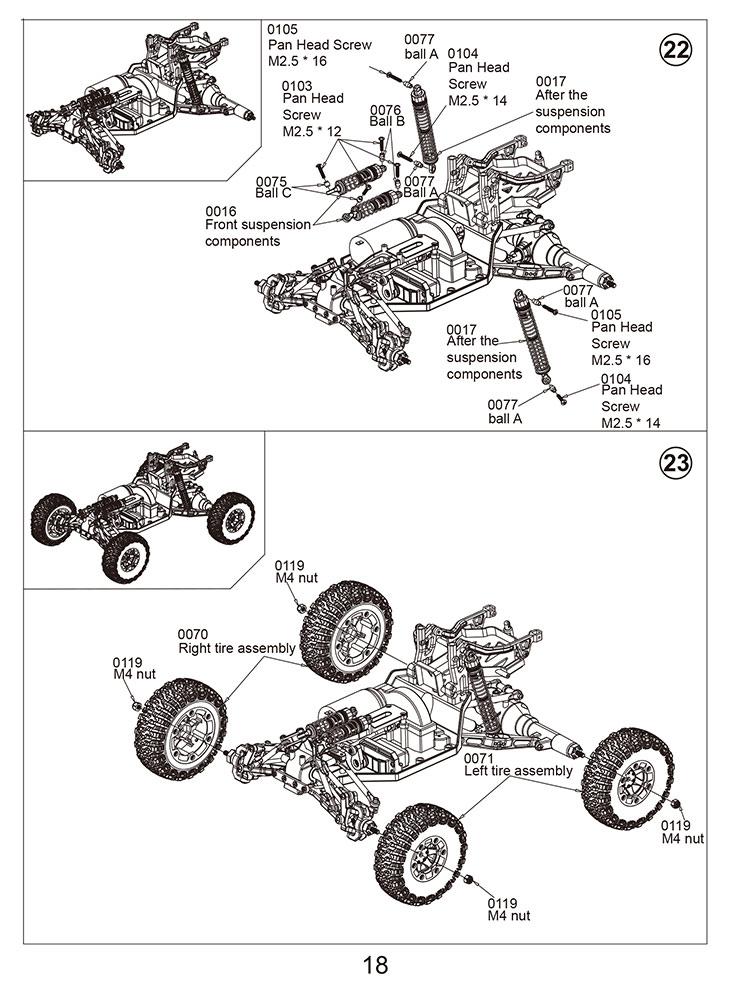 rc car wl toys 12428 2 4g 4wd high speed drift car off