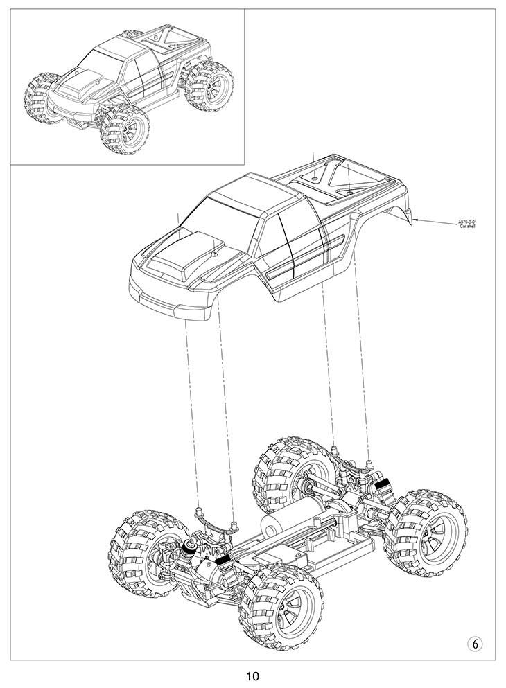 Rc Car Wltoys A979 B 2 4g Buggy Off Road Off Road Car Drift