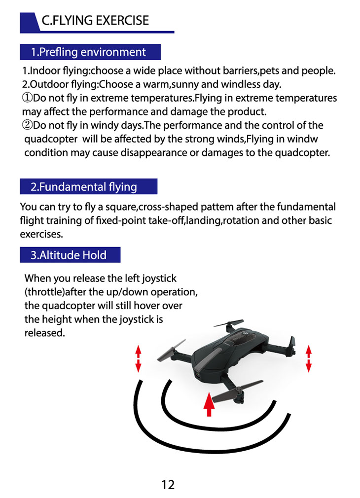 RC Drone JY 018 4 Channel 6 Axis 2 4G With 720P HD Camera