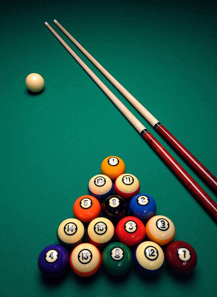 Billiard og pool