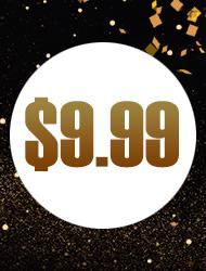 až $9,99