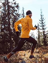 Sprint, jogging og turgåing