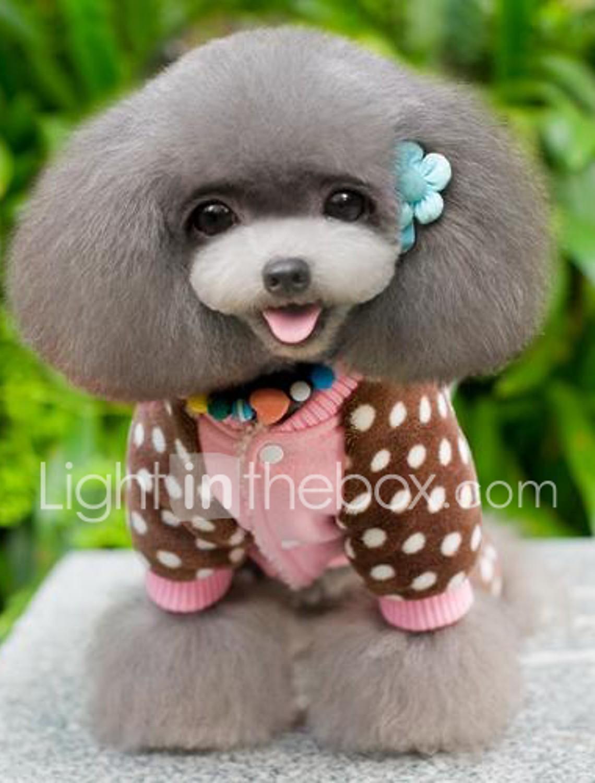 ESTK Simpatici Vestiti Per Animali Domestici Moda Vintage Per Cani Abiti Da Cucciolo Abito Dolcevita Abiti Da Cagnolino Costumi Per Feste Di Compleanno Natale