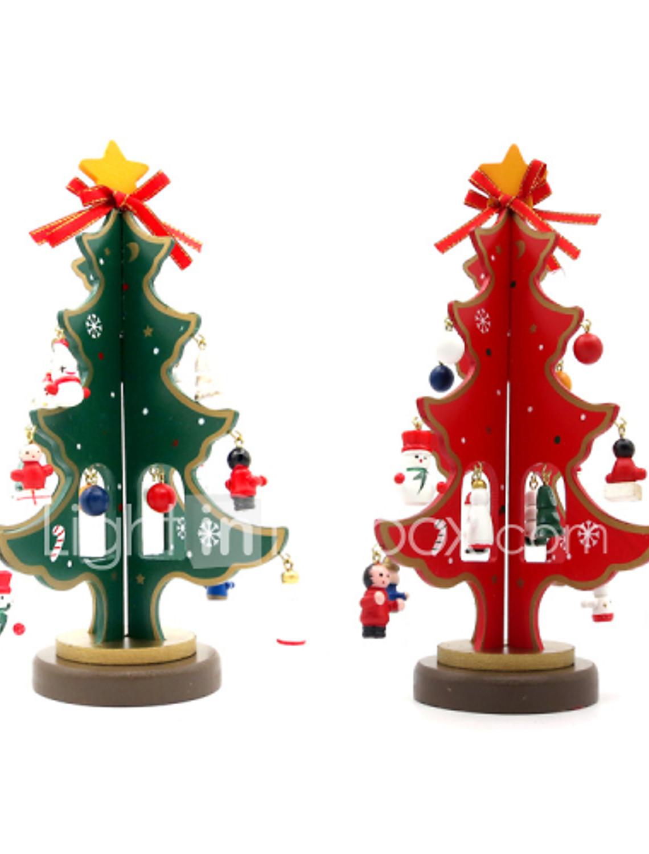 Albero Di Natale 852 Bambini.Simpatici Mini Albero Di Natale 23cm In Legno Decorazioni Natalizie Fai Da Te Per La Casa Regali Di Natale Per Bambini Del 5306144 2020 A 14 94
