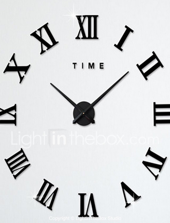 LightInTheBox Euro Country wall clock Size M;