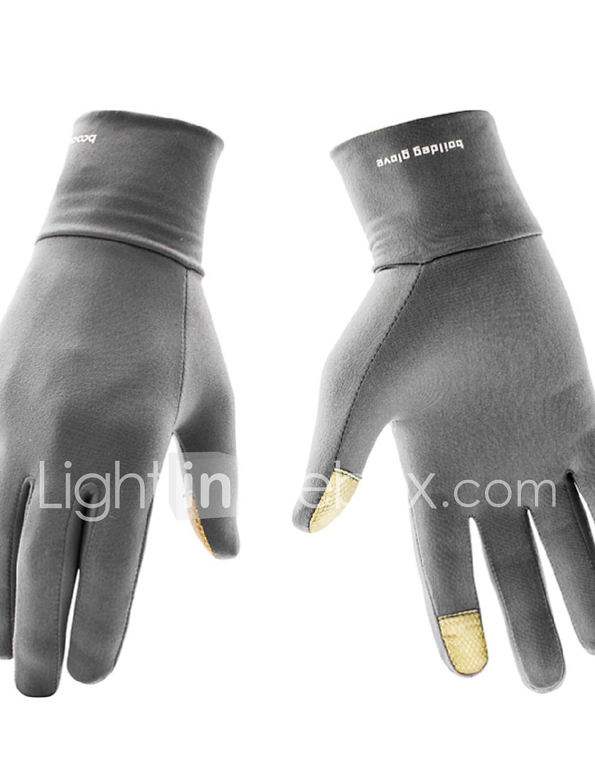 guantes de deporte antideslizantes para pantalla t/áctil como smartphones tabletas o GPS moto Guantes de invierno t/áctiles de lana de cachemira suave para bicicleta ciclismo unisex