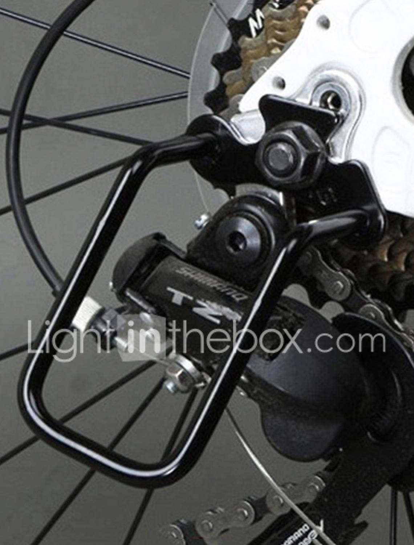 Cycling Bike Aluminum Bicycle Rear Gear Derailleur Chain THay Guard Protector ~