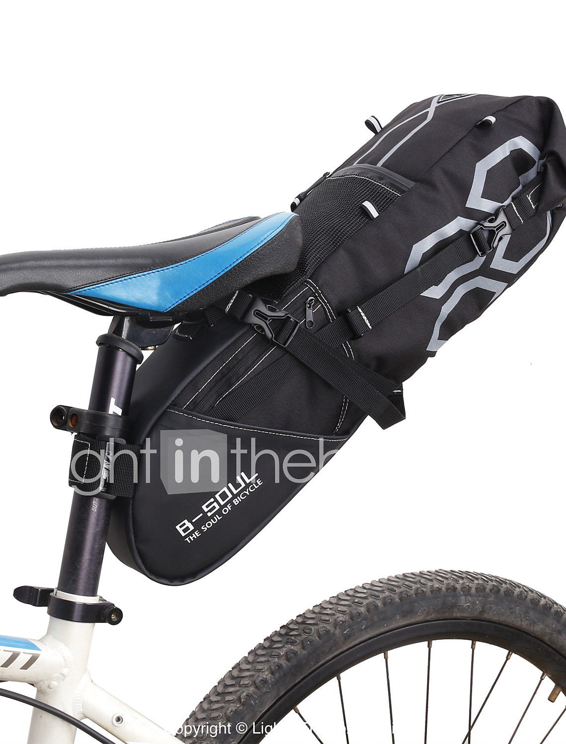 PVC Outdoor Portable Antiskid Rear Taillights Bag Package Bicycle Bike Cycling