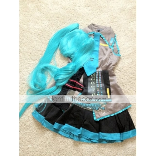 Inspired by Vocaloid Hatsune Miku Video Game Cosplay Costumes