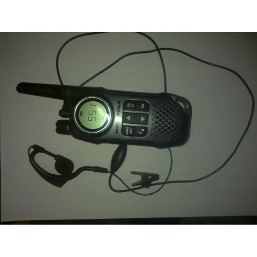 prémium kihangosító csíptetős mikrofon fülhallgató walkie-talkie (fekete)  ... 9efb78b0fd
