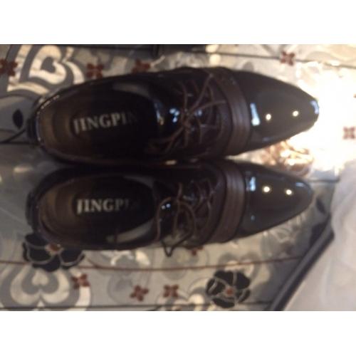 75a0693e4b ... Homens Sapatos formais Couro Ecológico Primavera   Outono Negócio  Oxfords Caminhada Preto   Marron   Casamento ...