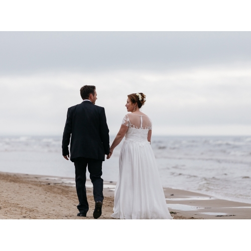 14efe608338 ... А-силуэт Совок шеи В пол Сатиновый шифон Свадебные платья  Made-to-Measure ...