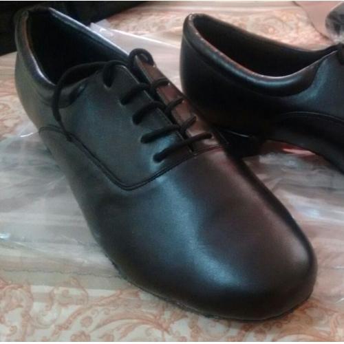 0b9390a23 Homens Sapatos de Dança Moderna / Dança de Salão Courino Oxford Cadarço Sem  Salto Personalizável Sapatos