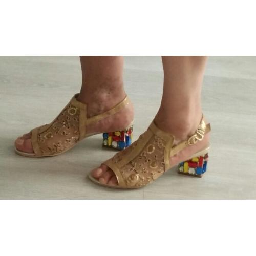 e77fb8d63 ... Mulheres Crystal Sandals Tule / Microfibra Verão / Outono Conforto /  Inovador / Sapatos clube Sandálias