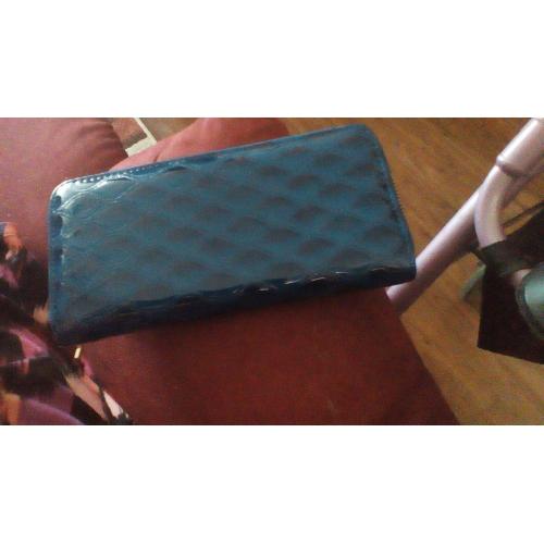 7a0c7d5c8b489 ... نسائي أكياس PU حقيبة الكتف 5 قطع محفظة مجموعة أزرق   أسود ...