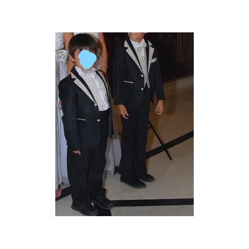 6081e9fbf أسود / فضي / أسود+ذهبي قطن بدلة حامل الخواتم - 6 يشمل الجاكيت / وشاح ...