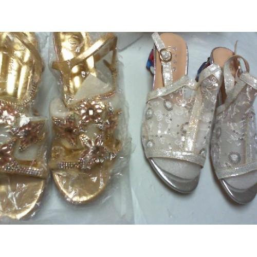978f39820 Mulheres Crystal Sandals Tule / Microfibra Verão / Outono Conforto /  Inovador / Sapatos clube Sandálias