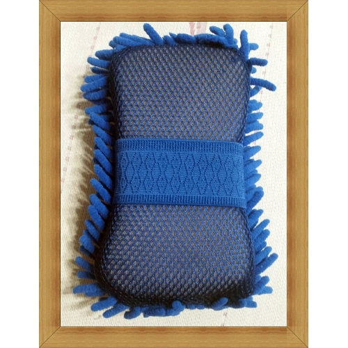 07223d05fbb3 ... multi-funksjon mikrofiber bilvask svamp premium chenille vaske svamper  for bil ...