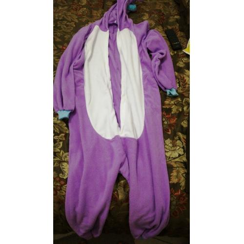 90c0a745ff Adults  Kigurumi Pajamas Unicorn Animal Onesie Pajamas Polar Fleece Purple    Blue   Pink Cosplay