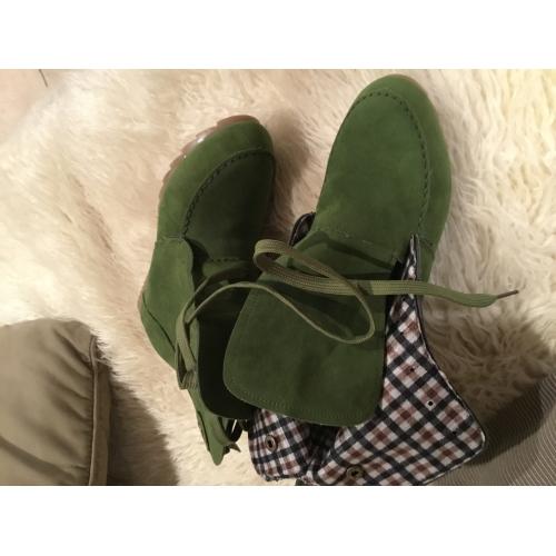 c0c1400a9 Mulheres Couro / Couro Ecológico Inverno Conforto / Botas da Moda Botas  Bege / Vermelho ...
