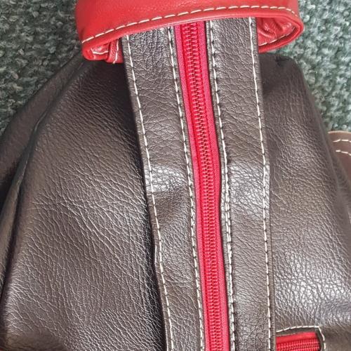 5e18bfafe2fbb للمرأة أكياس PU حقيبة مدرسية   شنطة سفر   حقيبة ظهر سادة أسود مراجعة