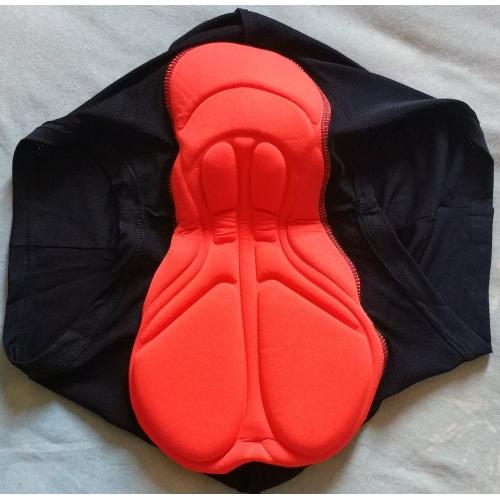 Arsuxeo Férfi Kerékpáros alsónadrág - Fekete Bike Fehérnemű Shorts Bélelt  nadrág Légáteresztő 3D-s párna ... 360d593e3e