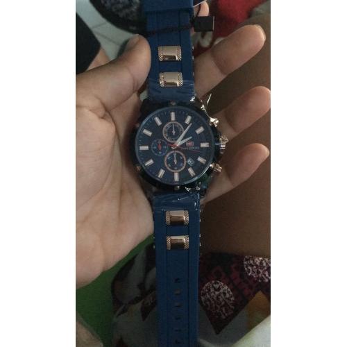 b5c0ff3924 Pánské Sportovní hodinky Náramkové hodinky japonština Křemenný Silikon  Černá   Modrá 30 m Kalendář Stopky Svítící