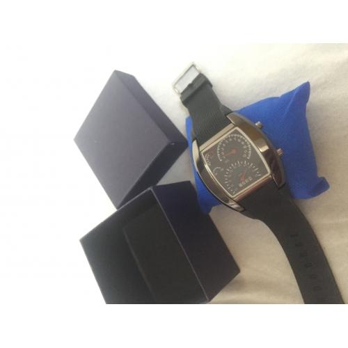 2e061167d54 Homens Relógio de Pulso Relogio digital Digital Borracha Preta Calendário  Criativo Digital Azul Escuro Marron Azul ...