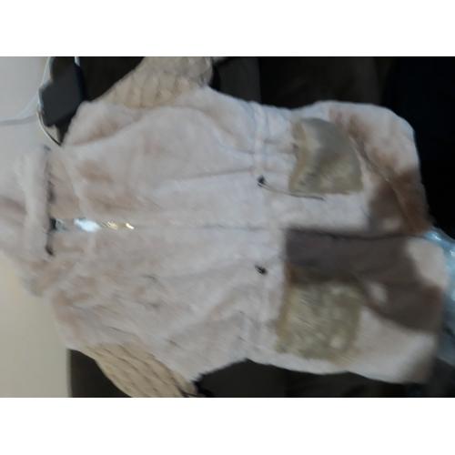 0719e5685d1 ... Γυναικεία Καθημερινά Ενεργό / Πανκ & Γκόθικ Χειμώνας Μεγάλα Μεγέθη  Κανονικό Γούνινο παλτό, Μονόχρωμο Με