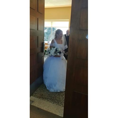 17861e6be2fc ... Βραδινή τουαλέτα Τετράγωνη Λαιμόκοψη Μακριά ουρά Οργάντζα   Φλοράλ  δαντέλα Φορέματα γάμου φτιαγμένα στο μέτρο με ...