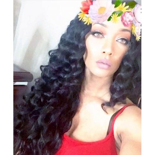 4 Bundles With Closure Brazilian Hair Wavy Human Weft 10 26