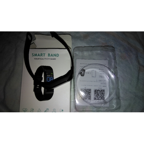 Smart Bracelet Smartwatch KL115 for Heart Rate Monitor