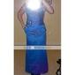 Rochie de mireasa de satin pentru barbati - trompeta / mermaid pătrat plus mărimea / petite cu draperii laterale de ts couture®
