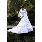 Tafta Nuntă Wraps de nunta With Volane Paltoane / Jachete