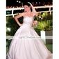 Ball Gown Sweetheart Court Train Wedding Dress (YCF147)